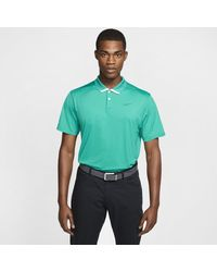 Nike Green Dri-fit Vapor Golf Polo for men