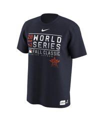 Nike - Blue 2017 World Series Bound Legend (mlb Astros) Men's T-shirt for Men - Lyst