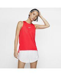 Canotta da running con grafica Dri-FIT di Nike in Red