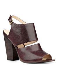 Nine West - Brown Oresah Open Toe Sandals - Lyst
