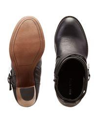 Nine West | Black Dontdoit Almond Toe Booties | Lyst