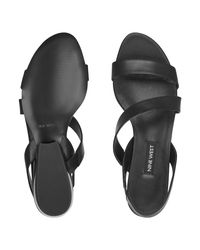 Nine West Black Lancelia Sandals