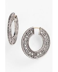 Konstantino - Metallic 'classics' Hoop Earrings - Lyst