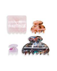 Tasha Multicolor 4-pack Hair Clips