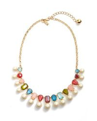 Kate Spade | Metallic A New Hue Collar Necklace | Lyst