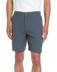 Quiksilver | Blue Shortie Chino Shorts for Men | Lyst