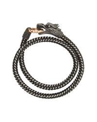 John Hardy Metallic Legends Naga Wrap Bracelet for men
