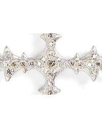Armenta Metallic Old World Multistrand Diamond Bracelet