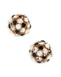 Kate Spade | Metallic Ball Stud Earrings | Lyst