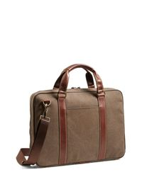 Boconi - Brown 'bryant' Briefcase - for Men - Lyst
