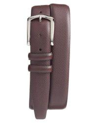 Torino Leather Company - Brown Bulgaro Calfskin Leather Belt for Men - Lyst