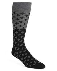 Calibrate - Black Cross Socks for Men - Lyst