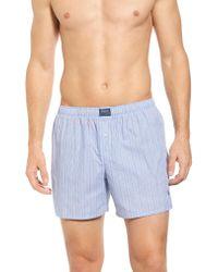 Polo Ralph Lauren Blue Woven Boxer Shorts for men