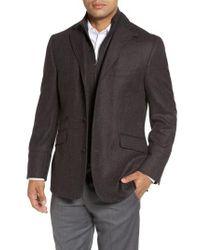 Kroon - Gray Ritchie Hybrid Classic Fit Wool & Cashmere Herringbone Sport Coat for Men - Lyst