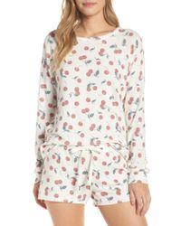 Pj Salvage Multicolor Mon Cheri Pajama Top