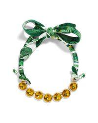 BaubleBar - Green Sorbet Statement Necklace - Lyst
