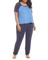 Make + Model - Blue Cloud 9 Pajamas - Lyst