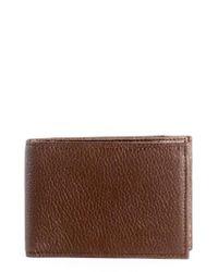 Boconi | Brown Garth Leather Bifold Wallet for Men | Lyst
