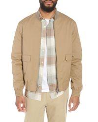 Vince Natural Regular Fit Bomber Jacket for men