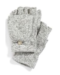 Patagonia White 'better Sweater' Gloves