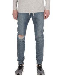Zanerobe - Blue Sureshot Decon Slim Fit Jogger Pants for Men - Lyst
