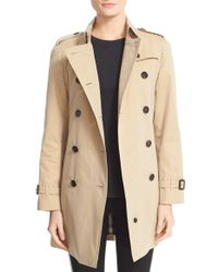 Burberry | Natural Westminster Double Breasted Trench Coat | Lyst