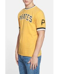 Red Jacket Yellow 'Pittsburgh Pirates - Remote Control' T-Shirt for men