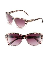 Lilly Pulitzer   Lilly Pulitzer 'marianne' 59mm Cat Eye Sunglasses - Gradient Pink Tortoise   Lyst