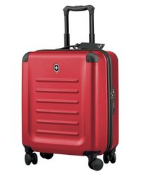 Victorinox - Red Victorinox Swiss Army 'spectra 2.0' Extra Capacity Hard Sided Rolling Carry-on for Men - Lyst