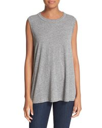 The Great - Multicolor 'the Sleeveless' Crewneck Tank - Lyst