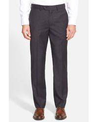 John W. Nordstrom | Gray Creased Wool Chinos for Men | Lyst