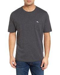 Tommy Bahama | Gray 'new Bali Sky' Pima Cotton Pocket T-shirt for Men | Lyst