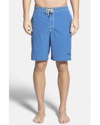 Tommy Bahama | Blue 'baja Poolside' Board Shorts for Men | Lyst