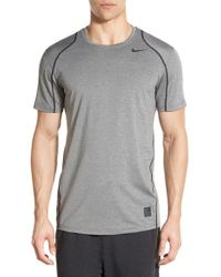 Nike | Black 'pro Cool Compression' Fitted Dri-fit T-shirt for Men | Lyst
