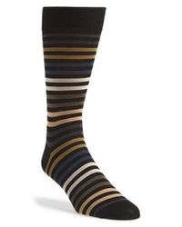 Pantherella | Black 'kilburn' Egyptian Cotton Socks for Men | Lyst