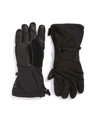 The North Face   Black 'montana E-tip(tm)' Tech Gloves for Men   Lyst