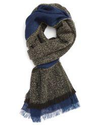 Polo Ralph Lauren - Blue Reversible Scarf for Men - Lyst