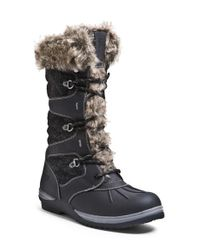 Blondo | Black 'sasha' Waterproof Snow Boot | Lyst
