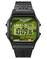Timex | Black Timex '80' Digital Bracelet Watch | Lyst