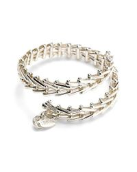 ALEX AND ANI | Metallic 'vintage 66' Chain Wrap Bracelet | Lyst