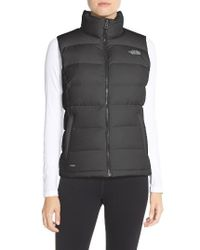 The North Face | Black Nuptse 2 Down Vest | Lyst