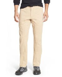 Gramicci Natural 'freedom G' Stretch Twill Pants for men