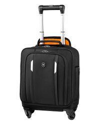 Victorinox   Black Victorinox Swiss Army 'wt 5.0' Wheeled Tote Bag for Men   Lyst