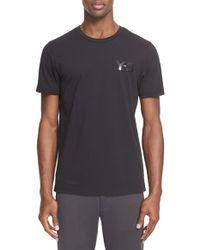 Y-3 Black 'classic' Logo Print T-shirt for men