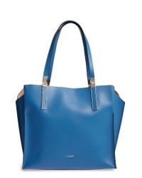 Lodis | Blue 'blair Collection - Anita' Leather Tote | Lyst