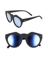 Le Specs | 'neo Noir' 53mm OverBlack Rubber | Lyst