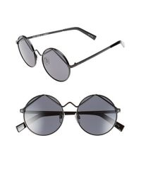 Le Specs - Black 'wild Child' 52mm Sunglasses - Lyst