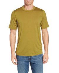 Ibex | Green 'all Day Weightless Wool Blend' T-shirt for Men | Lyst