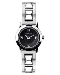Nixon | Metallic 'mini B' Bracelet Watch | Lyst