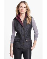 Barbour Green 'cavalry' Quilted Vest